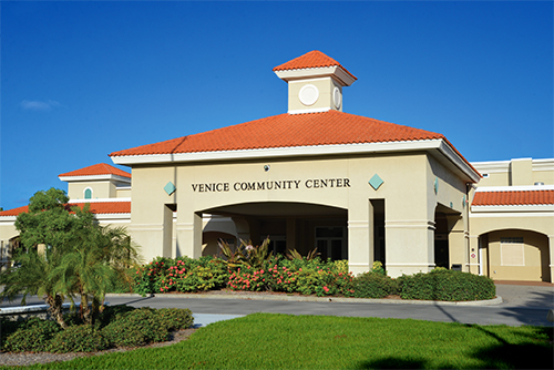 Venice Community Center site of the Venice Home Show