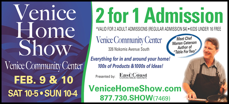 Venice Home Show Coupon