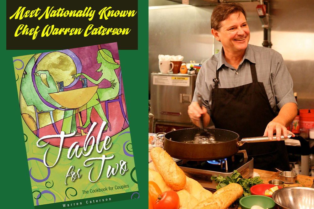 Chef Caterson author of Table for Two